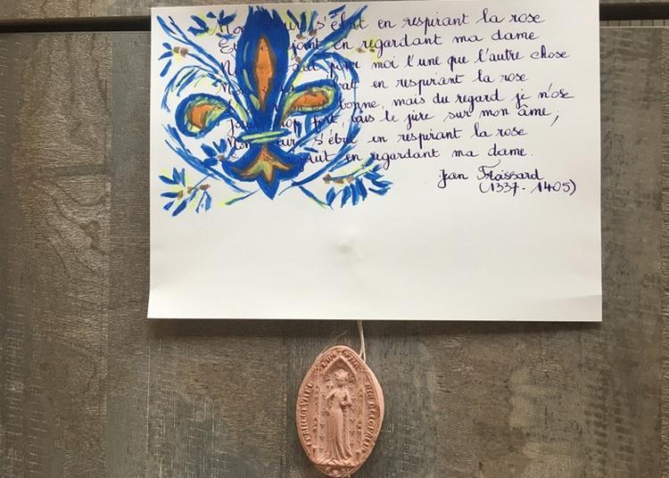 Atelier Calligraphie Et Visite De L'exposition Du Poupard à L'enfant à Mantes la Jolie