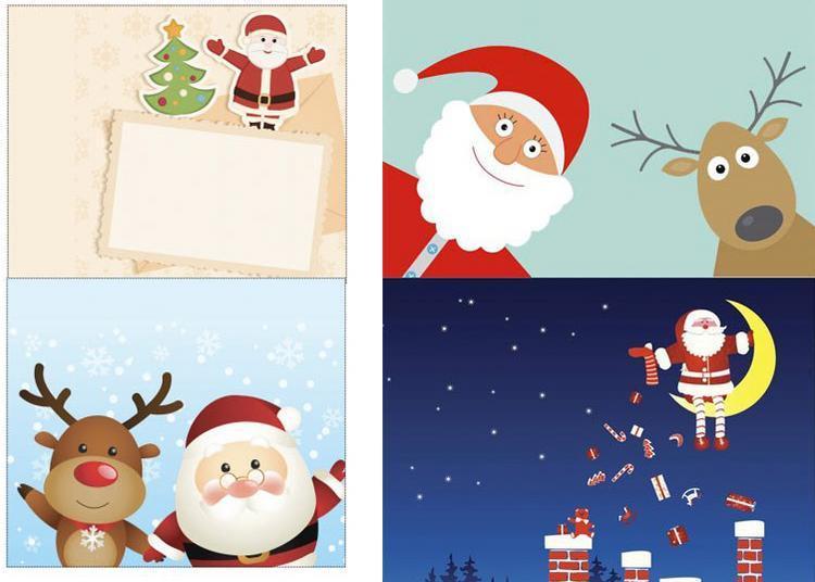 Carte de Noël - Un Sourire à Nantes