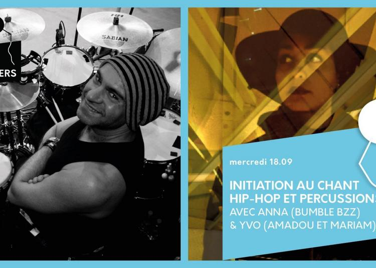 Atelier | Chant Hip-hop & Percussions à Paris 13ème