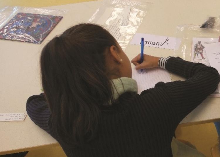 Atelier Couleur Et Calligraphie à Hyeres