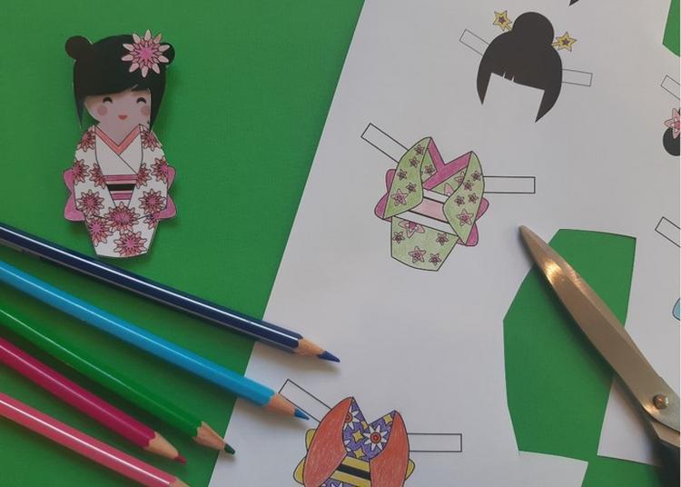 Atelier Créatif Enfant « Crée Ta Poupée De Papier » à Creil