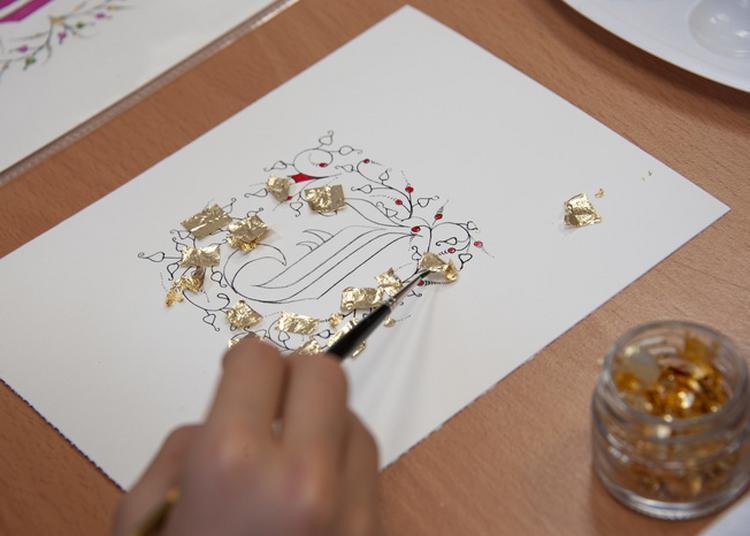 Atelier Créatif - Initiation à L'enluminure à Toulouse
