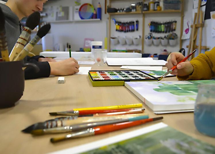 Atelier Créatif,  Papier Crayon  Au Musée Du Revermont à Cuisiat
