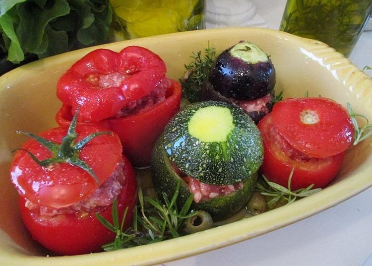 Atelier Culinaire : Les Farcis Provençaux à Hyeres