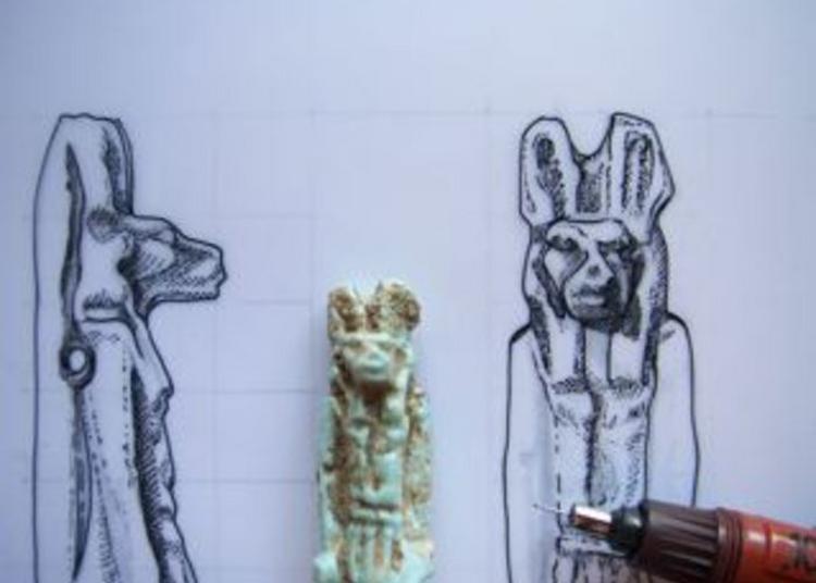 Atelier D'initiation Au Dessin D'objet Archéologique égyptien à Lunel