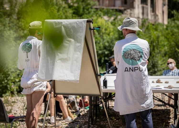 Atelier D'urbanisme Enchanteur Avec L'agence Nationale De Psychanalyse Urbaine à Lodeve