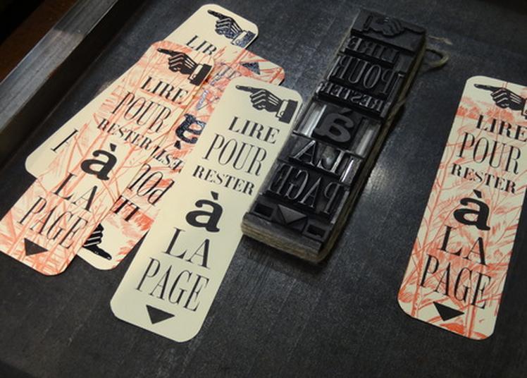 Atelier De Composition Typographique à Lyon