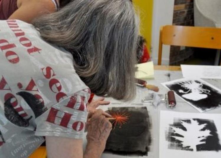 Atelier De Découverte De La Gravure Pour Adultes à Annecy