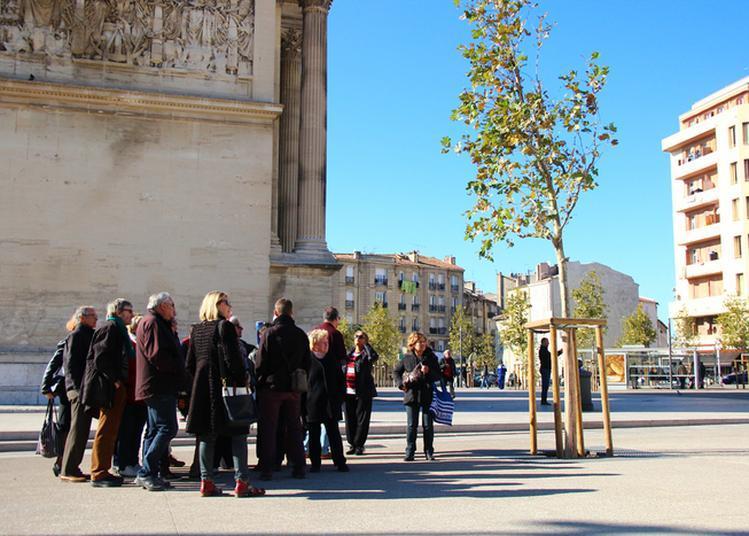 Atelier De Découverte Urbaine Sur La Porte D'aix, Un Quartier Métropolitain à Marseille