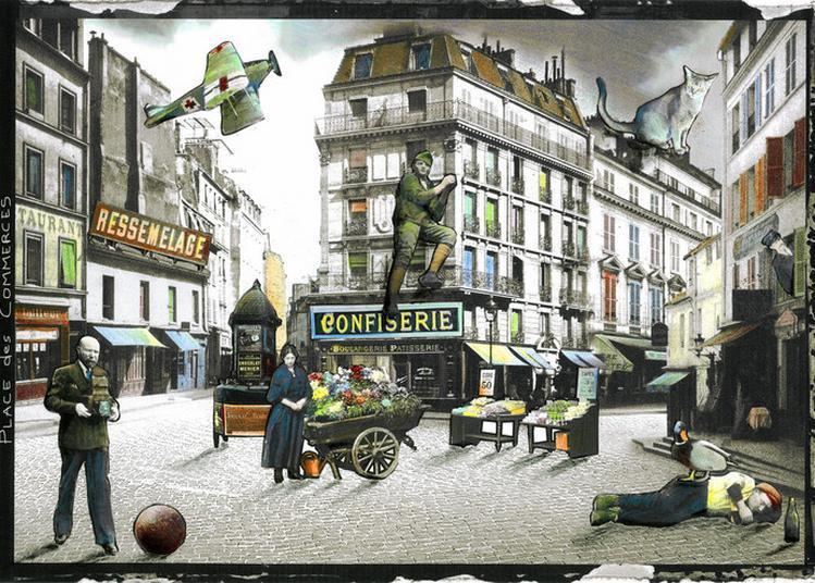 Atelier De Photocollage à Paris 16ème