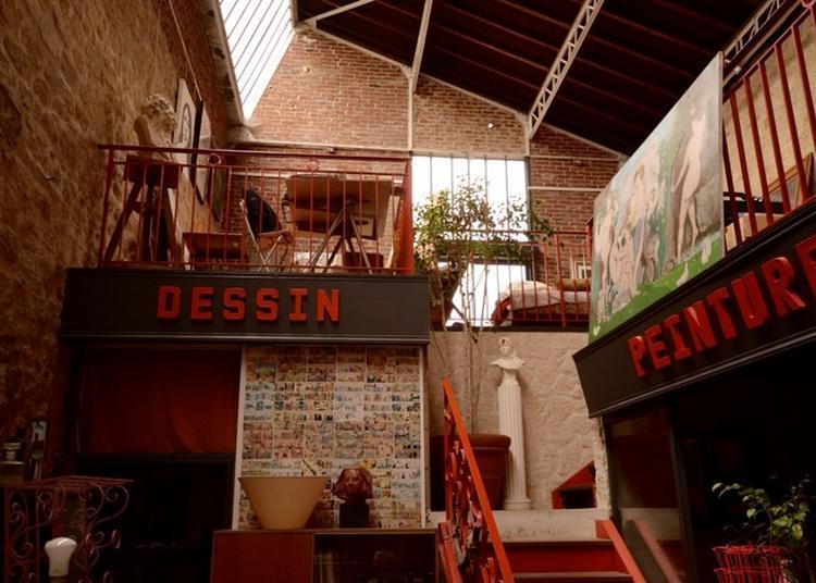 Atelier De Sculpture-peinture à La Ferte Milon