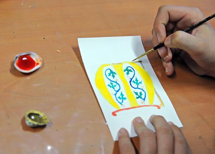 Atelier Enluminure Et Calligraphie à Perpignan