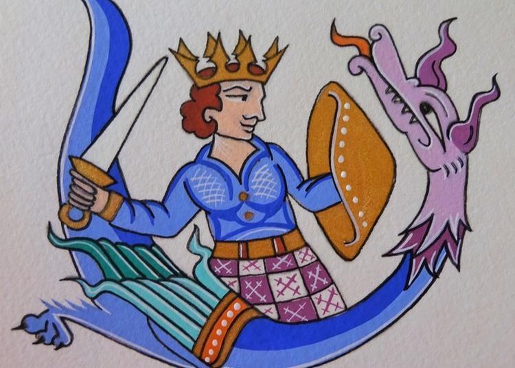Atelier Enluminures - Le Prince Vaillant Et Le Dragon à Metz