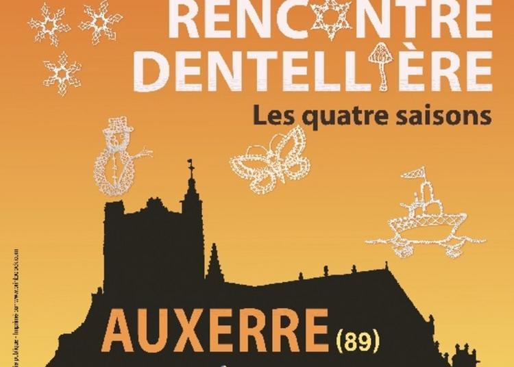 Atelier Et Démonstration De L'art De La Dentelle à Auxerre