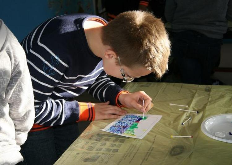 Atelier Familial Autour Des Néo-impressionnistes à Huppain