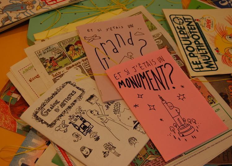 Atelier Fanzine À La Maison Du Peuple à Saint Claude