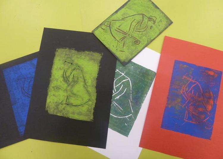 Atelier Jeune Public De Gravure Sur Bois à Saint Cloud