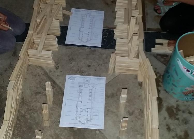 Atelier Kaplas : Construction De L'église Notre-dame Des Tables à Montpellier