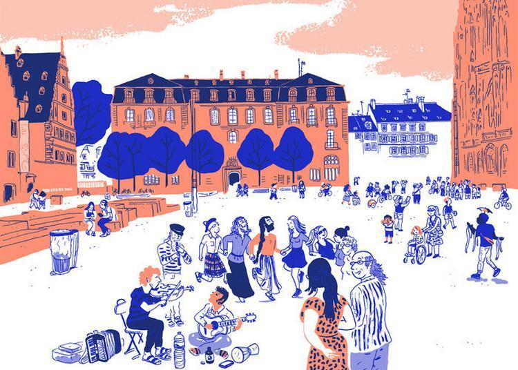 Atelier : « Croquer La Place Du Château » à Strasbourg