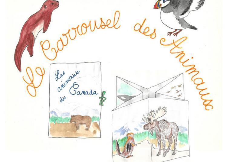 Atelier - Le carrousel des animaux du Canada à Paris 8ème