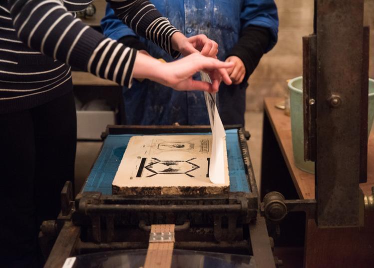 Atelier Lithographique Jeune Public À La Pam à Brest
