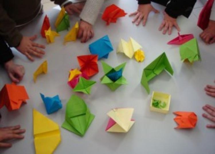 Atelier Origamis D'archives à Frejus