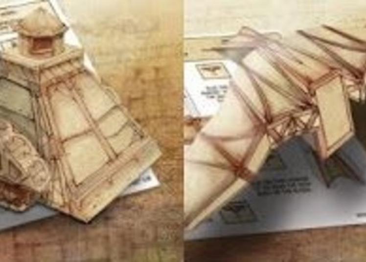 Atelier Paper Toy Les Machines De Léonard à Les Mureaux