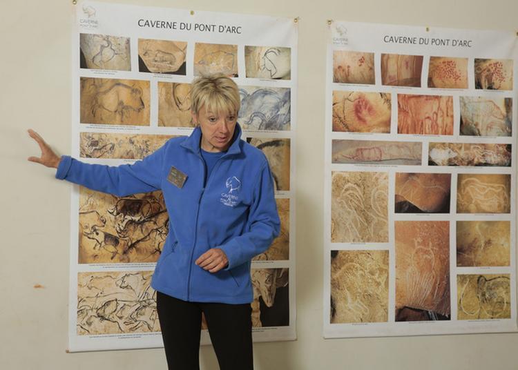 Atelier Pariétalisme « Comment S'étudie Une Grotte Ornée ? » à Vallon Pont d'Arc