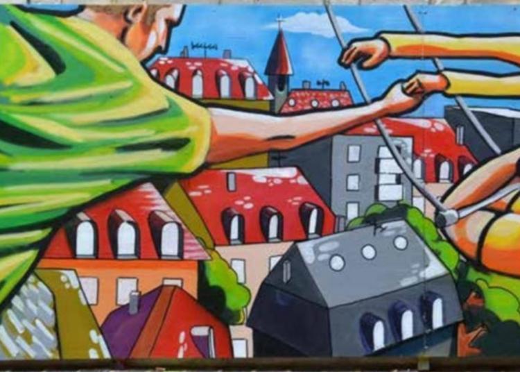 Atelier Peinture Et Graff Participatif à Chalons en Champagne