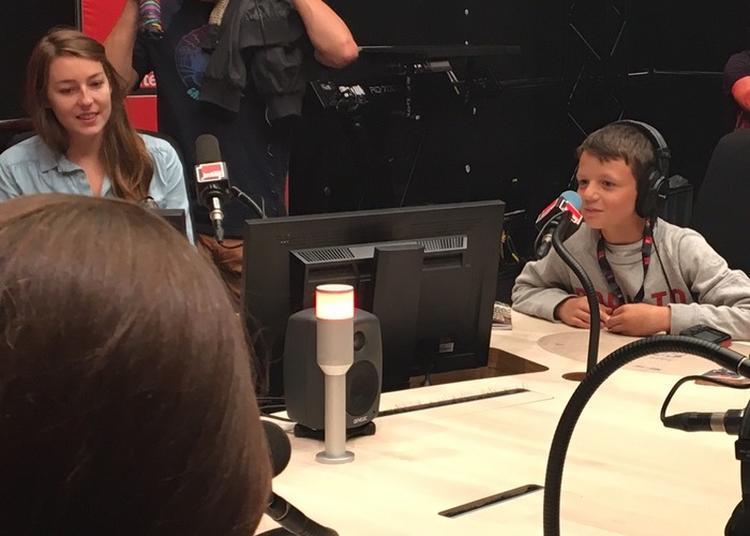 Atelier Radio Avec Mouv' à Paris 16ème