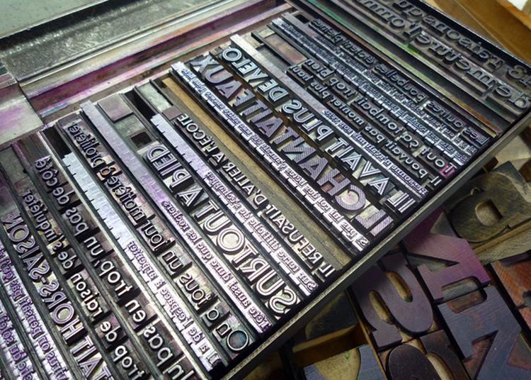 Atelier Typographique à Baume les Dames