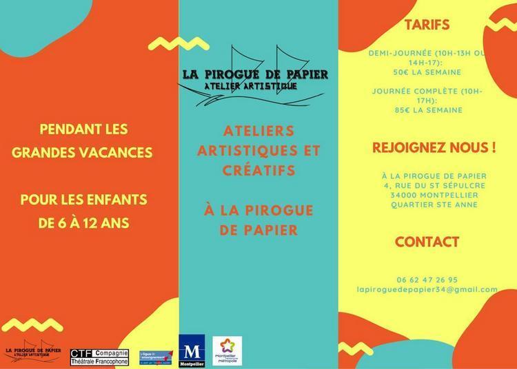 Ateliers créatifs et culturels à Montpellier