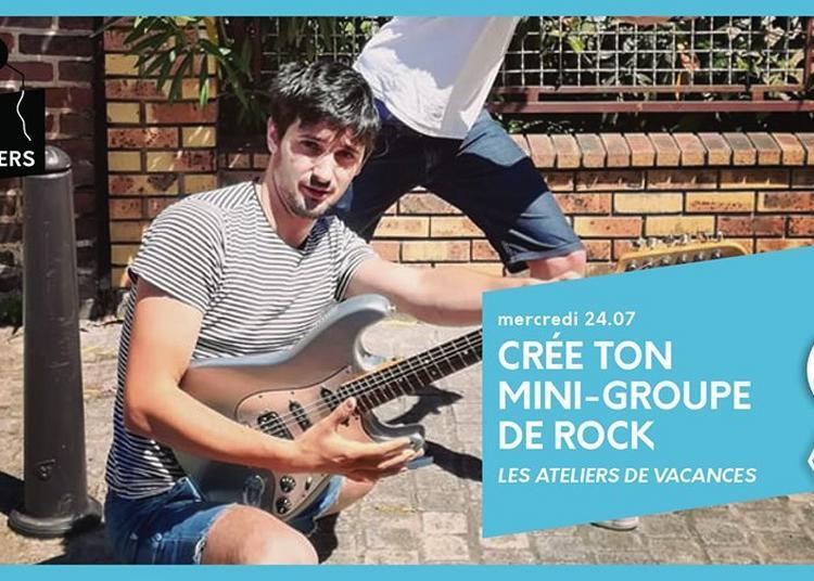 Ateliers De Vacances : Crée Ton Mini Groupe De Rock | 24/07 à Paris 13ème