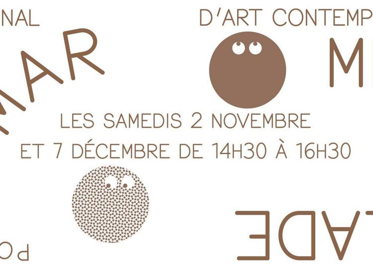 Ateliers Marmelade autour de l'exposition Sven 't Jolle à Le Havre