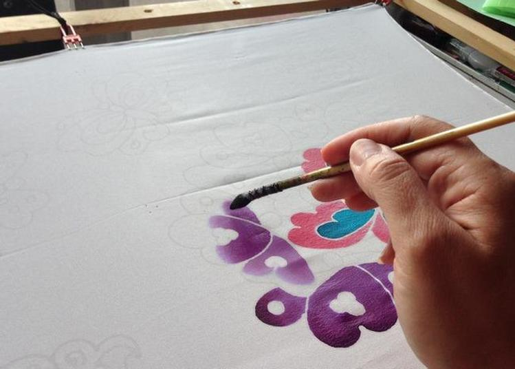Ateliers Mini-mof - Peinture Sur Soie à Paris 3ème