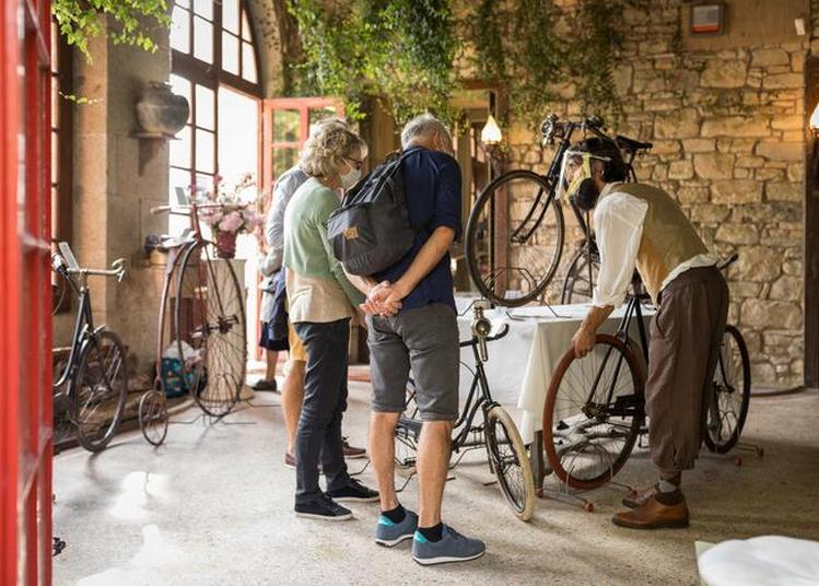 Au Bois Cornillé, Exposition De Cycles De La Belle époque : Grands-bis, Tricycles Et Vélocipèdes. à Val d'Ize