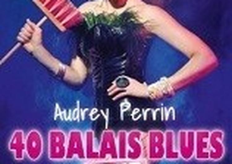 Audrey Perrin Dans 40 Balais Blues Tour à Toulouse