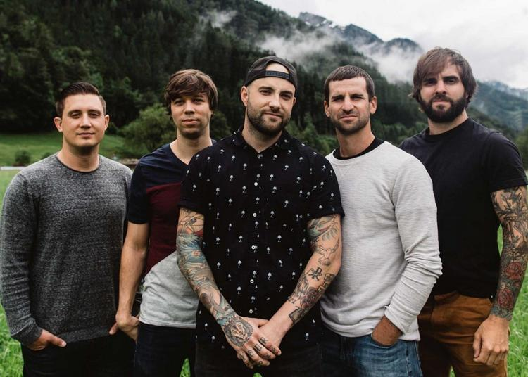 August Burns Red   Bury Tomorrow à Paris 19ème