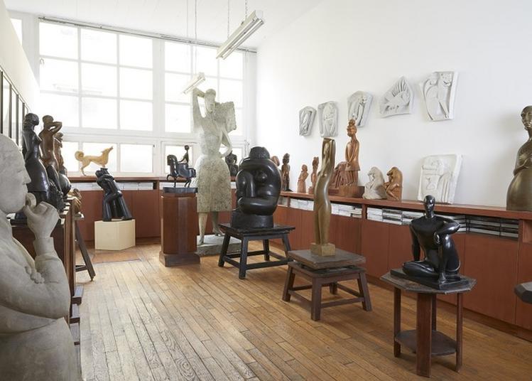 Autour De La Sculpture De Chana Orloff à Paris 14ème