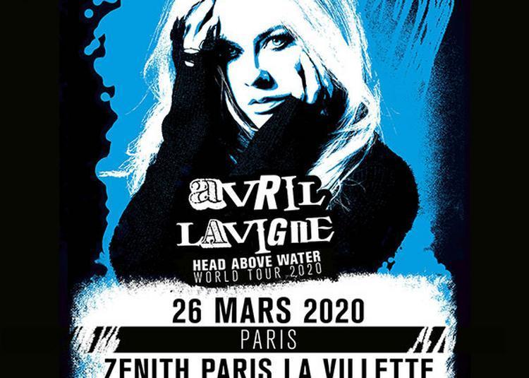 Avril Lavigne à Paris 19ème