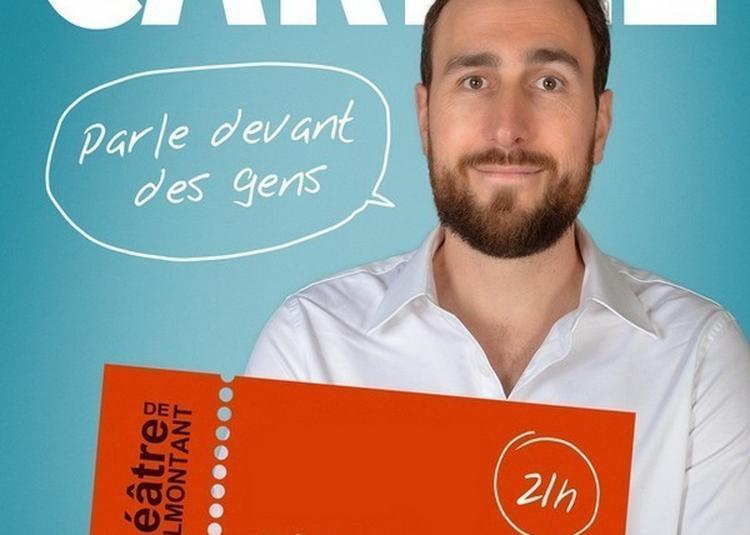 Aymeric Carrez Parle Devant Des Gens à Paris 20ème