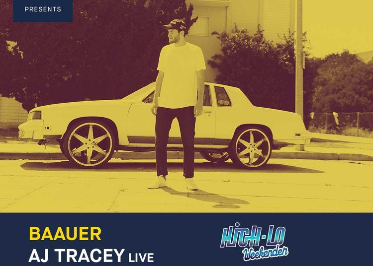 Baauer / AJ Tracey / S-Type : Red Bull Music x High-lo Weekender à Lyon