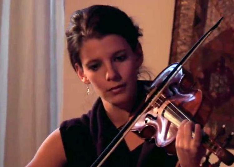 Bach , Telemann, et Biber à St-Vincent de Paul, par la violoniste  Emmanuelle Dauvin à Paris 10ème