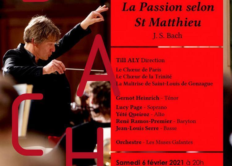 Bach La Passion Selon Saint Mathieu à Paris 1er