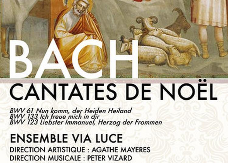 Bach - Trois Cantates de Noël à Paris 6ème