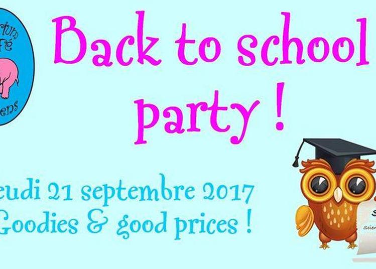 Back to school party à Amiens