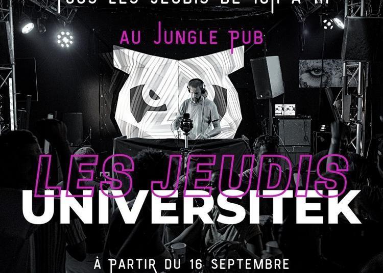 Les Jeudis Universitek / Mix Djs Résidents & Guests à Montpellier
