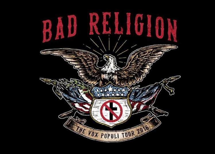 Bad Religion à Paris 18ème