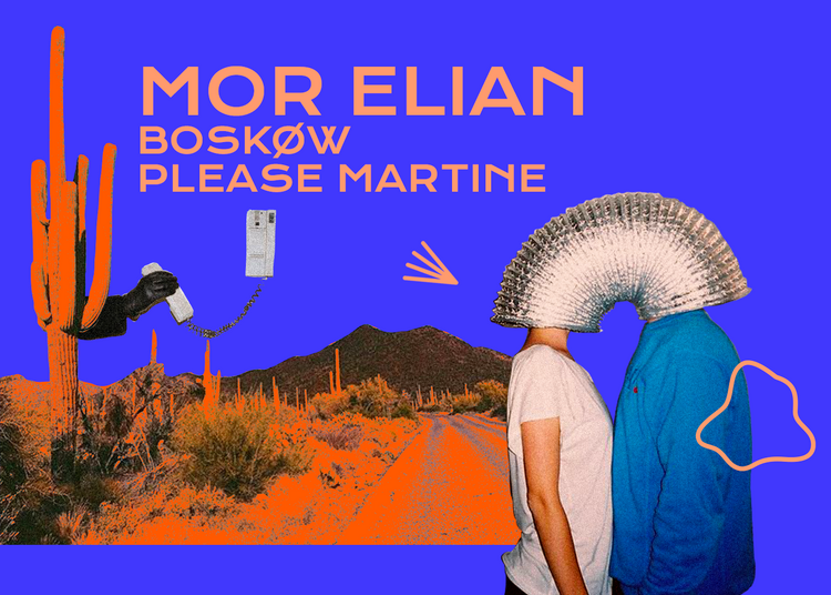 Badaboum : Mor Elian, Boskøw, Please Martine à Paris 11ème