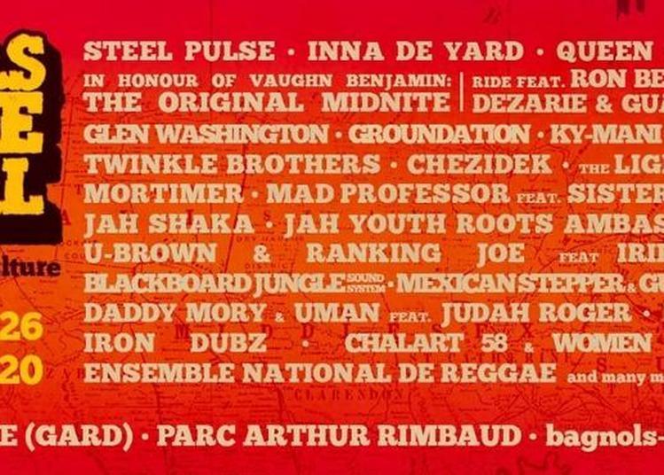 Bagnols Reggae Festival #3 - Pass 1jr et Camping à Bagnols sur Ceze